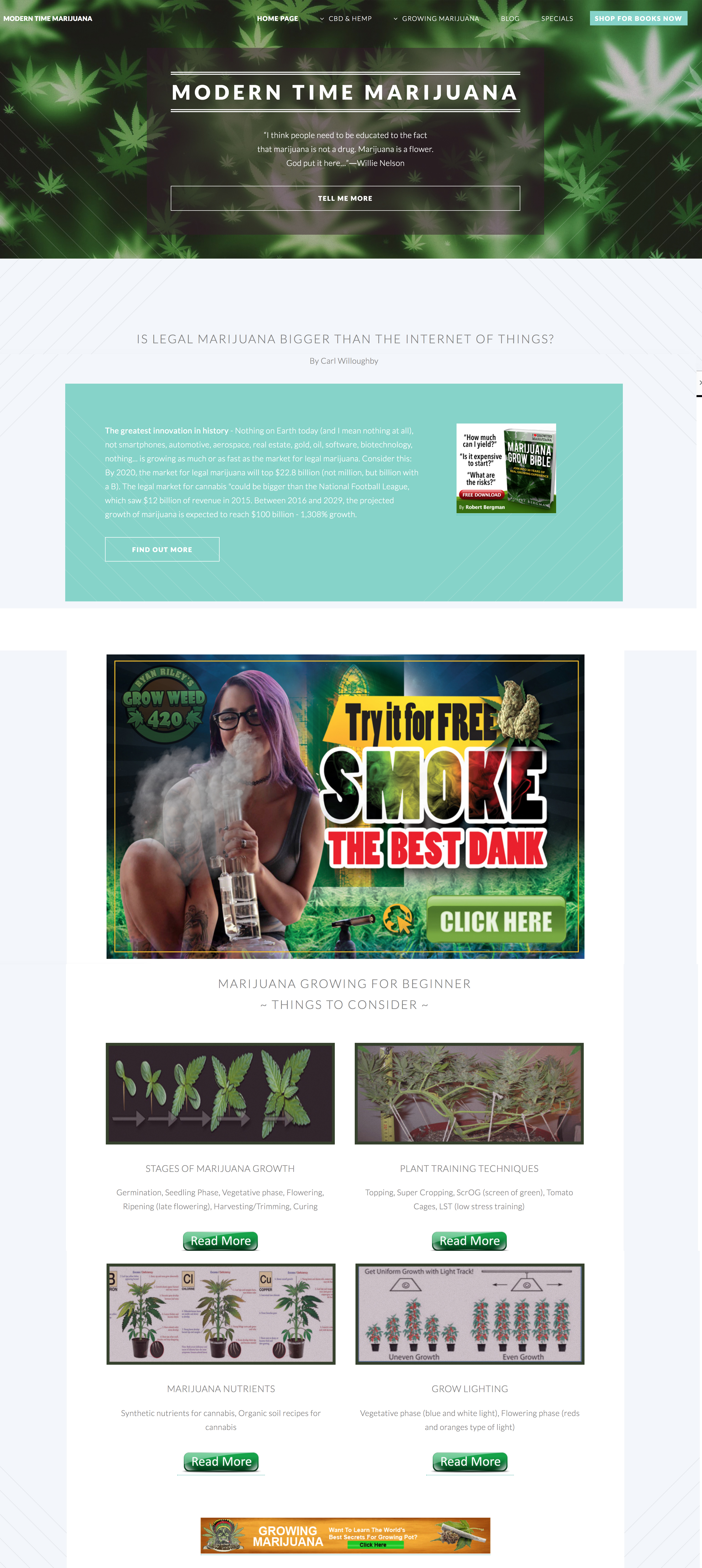marijuana website business for sale
