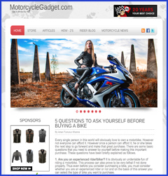 motorcycle website business for sale